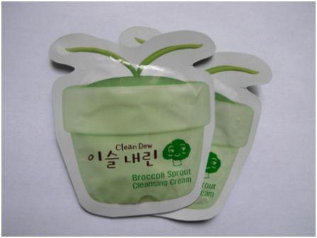 Крем с брокколи очищающий