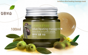 innisfree olive heating mask
