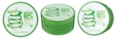 Nature Republic Soothing Moisture ALOE VERA GEL 92%