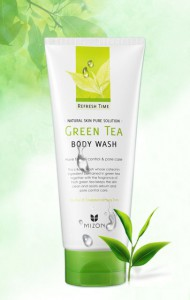 Mizon-Refresh-Time-Green-Tea-Body-Wash