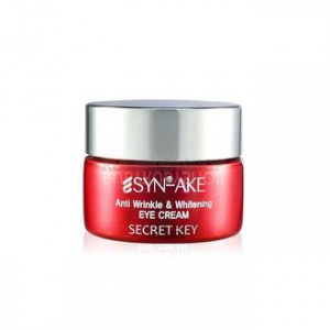 Secret Key SYN-AKE Крем для глаз с пептидом змеиного яда - Secret Key SYN-AKE Anti Wrinkle & Whitening Eye Cream 15гр