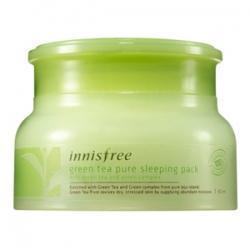 Innisfree Ночная маска для лица с экстрактом зелёного чая - Innisfree Green Tea Sleeping Pack 80ml
