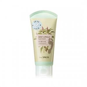 The Saem Mint Jungle Foot Cream