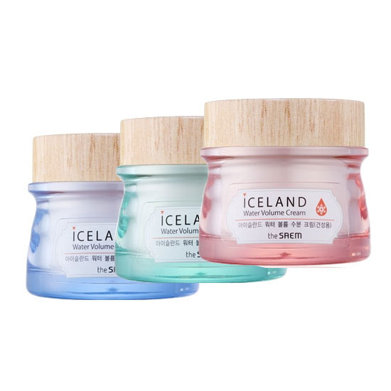 The Saem Iceland Hydrating Water Volume Cream