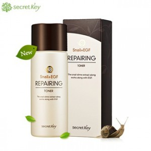 Secret Key Snail Тоник для лица с муцином улитки и EGF - Secret Key Snail + EGF Repairing Toner