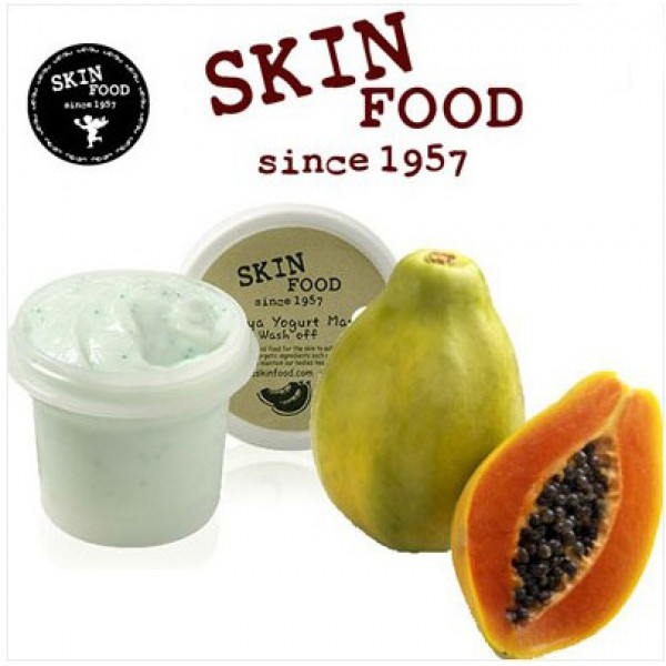 Skinfood Papaya Yogurt Mask Wash off-600x600