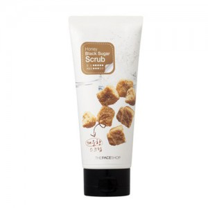 The Face Shop Пилинг-скраб для лица с медом и черным сахаром - The Face Shop Smart peeling honey black sugar scrub