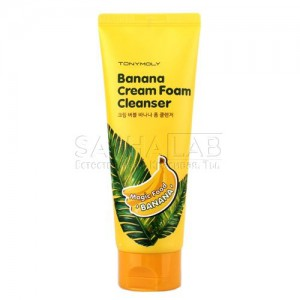 tony moly banana cream foam cleanser