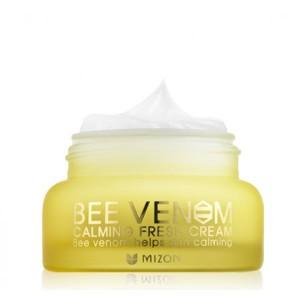 Mizon Успокаивающий освежающий крем с пчелиным ядом - Mizon Bee Venom Calming Fresh Cream