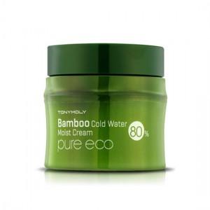 Tony Moly Охлаждающий увлажняющий крем с экстрактом бамбука - Tony Moly Pure Eco Bamboo Cold Water Moisture Cream