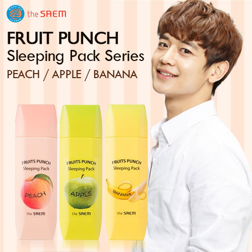The Saem Fruits Punch Sleeping Pack
