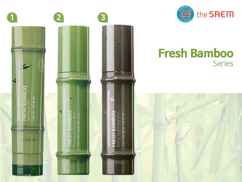 The Saem Fresh Bamboo Soothing Gel