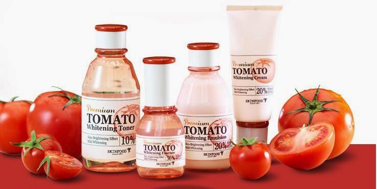 SKINFOOD Tomato Milky Shine Cream